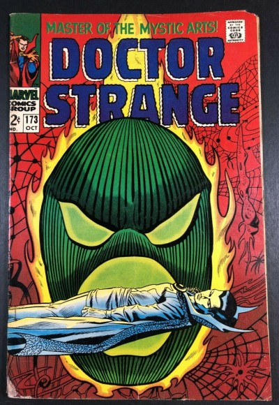 Doctor Strange (1968) #173 VG (4.0) vs Dormammu part 3 of 3