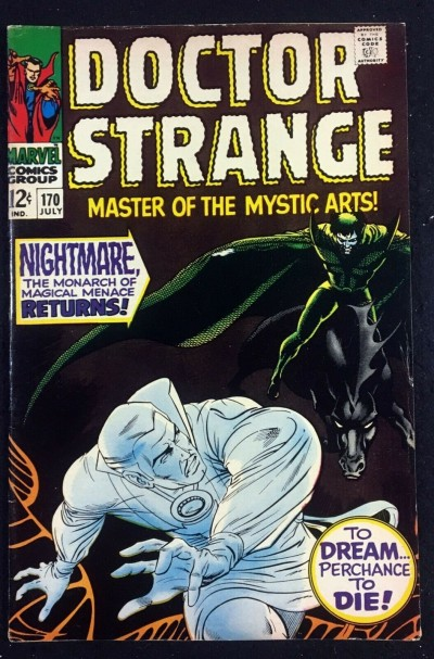 Doctor Strange (1968) #170 FN/VF (7.0) vs Nightmare