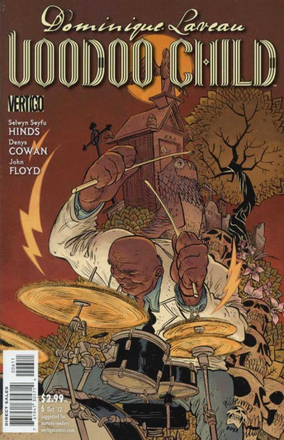 DOMINIQUE LAVEAU: VOODOO CHILD #6 FN/VF VERTIGO