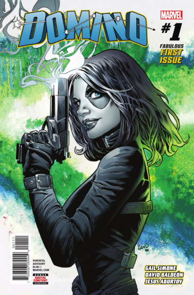 "Domino (2018) #'s 1 2 3 4 5 Complete ""Killer Instinct"" VF/NM-NM Set Gail Simone"