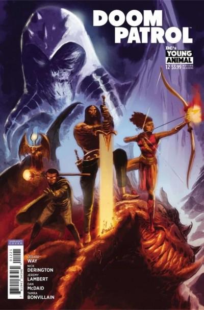 Doom Patrol (2016) #12 VF/NM Dan McDaid Cover DC Young Animal
