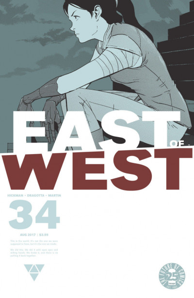 East of West (2013) #34 VF/NM Hickman Image Comics
