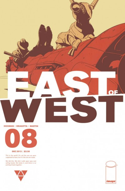 East of West (2013) #8 VF/NM Jonathan Hickman Image Comics