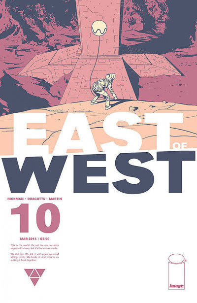 East of West (2013) #10 VF/NM Hickman Image Comics