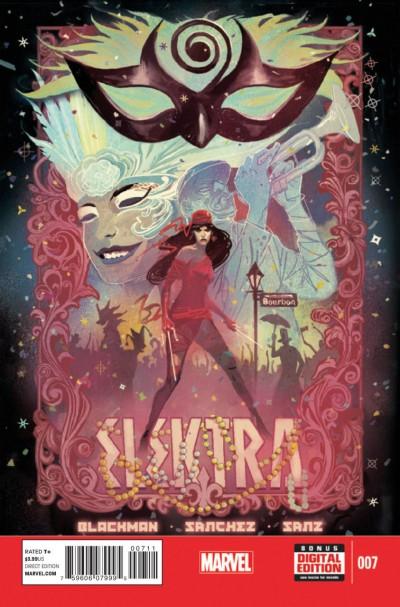 ELEKTRA (2014) #7 VF MARVEL NOW!