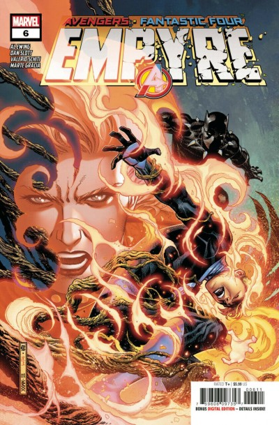 Empyre (2020) #6 of 6 VF/NM Jim Cheung Cover