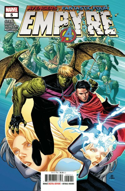 Empyre (2020) #5 of 6 VF/NM Jim Cheung Cover
