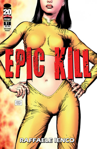 EPIC KILL #1 OF 5 NM 2ND PRINTING VARIANT COVER IMAGE COMICS