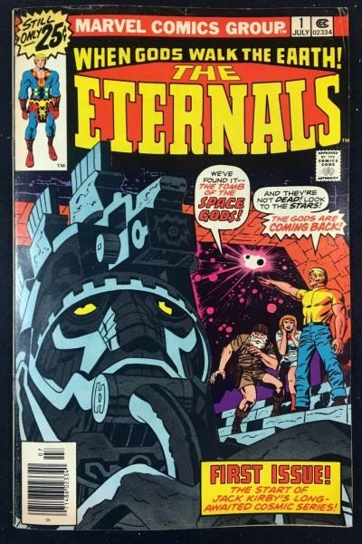 Eternals (1976) #1 FN (6.0) 1st app Eternals Jack Kirby