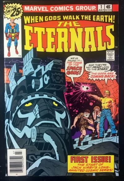 Eternals (1976) #1 (7.5) 1st app Eternals