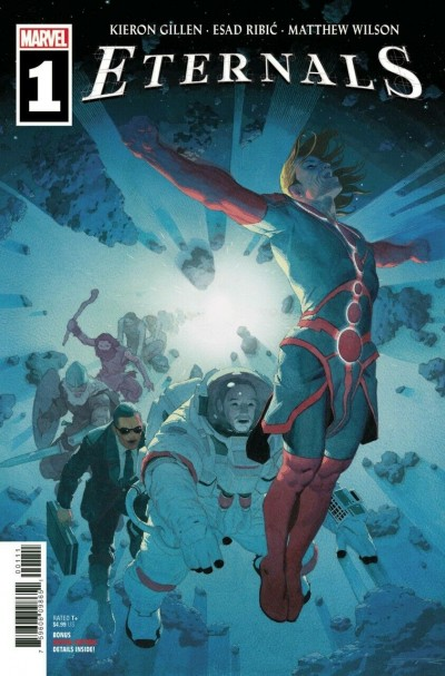 Eternals (2021) #1 VF/NM Esad Ribic Regular Cover