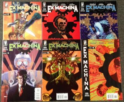 Ex-Machina (2004) #1-50 Complete Set lot of 55 Brian K Vaughan writer of Saga