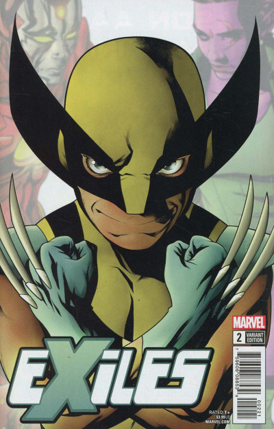 Exiles (2018) #2 VF/NM 1st New Valkyrie Character Variant Cover (Wolverine)