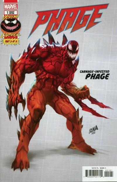 Extreme Carnage: Phage (2021) #1 VF/NM Nakayama 1:10 Variant Cover