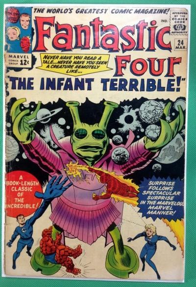 Fantastic Four (1961) #24 FR (1.0)