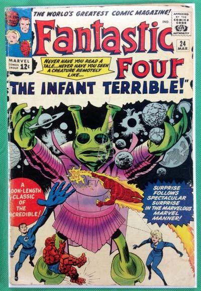 Fantastic Four (1961) #24 PR (.05)