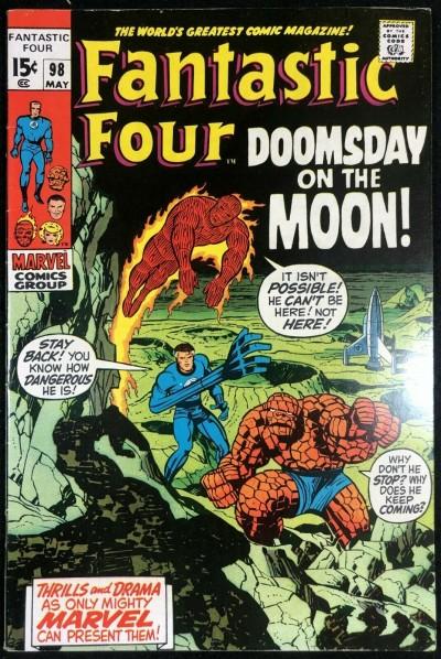 Fantastic Four (1961) #98 VF- (7.5) Vs Kree Sentry