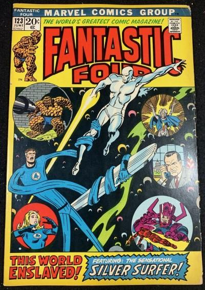 Fantastic Four (1961) #123 FN- (5.5) Silver Surfer Gulactus