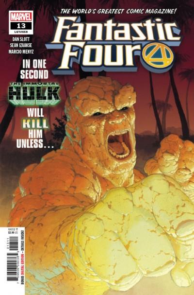 Fantastic Four (2018) #13 (#658) VF/NM Esad Ribic Cover Immortal Hulk Vs Thing