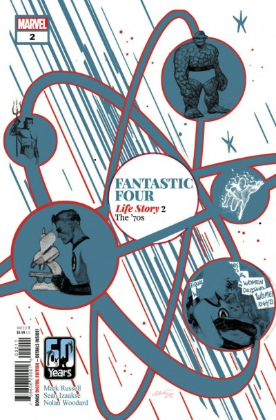 Fantastic Four: Life Story (2021) #2 of 6 VF/NM Daniel Acuña Cover