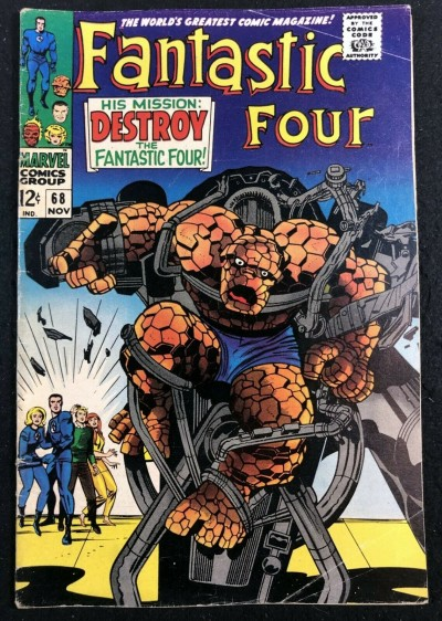 Fantastic Four (1961) #68 VG/FN (5.0) Stan Lee Story and Jack Kirby Art