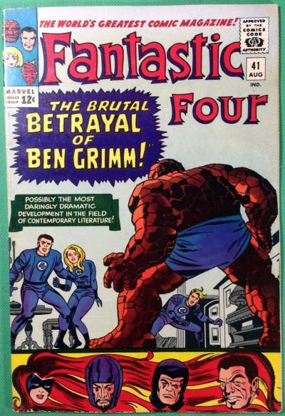 Fantastic Four (1961) 41 VF- (7.5) Frightful Four