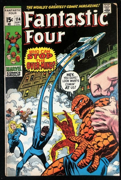Fantastic Four (1961) #114 FN- (5.5) Over-Mind Part 3