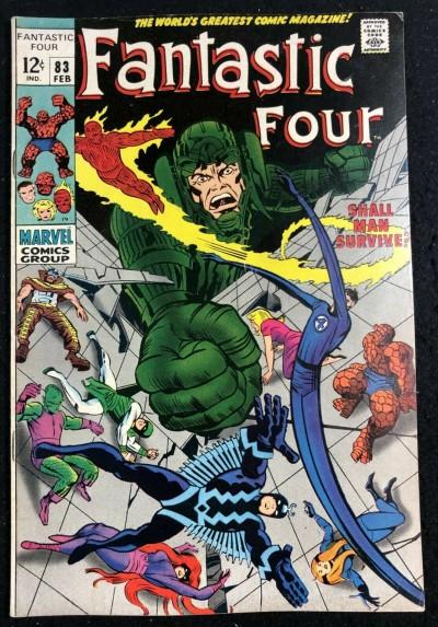 Fantastic Four (1961) #83 FN+ (6.5) Inhumans vs Maximus