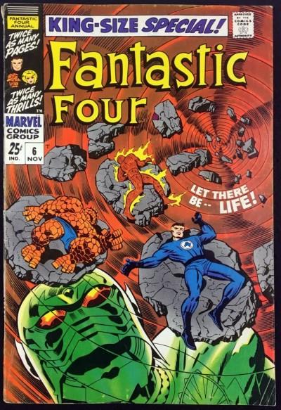 Fantastic Four Annual (1968) #6 FN- (5.5) 1st app Franklin Richards & Annihilus