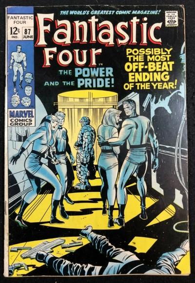 Fantastic Four (1961) #87 VG/FN (5.0) Doctor Doom app