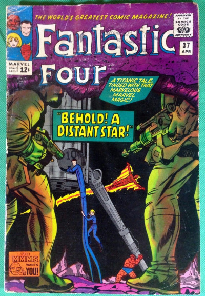 Fantastic Four (1961) #37 GD+ (2.5)