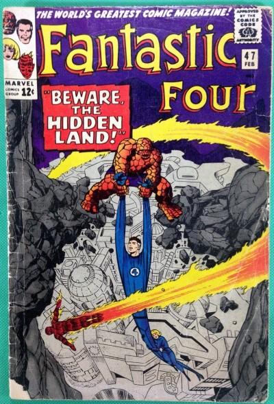 Fantastic Four (1961) #47 GD (2.0) 3rd app Inhuman