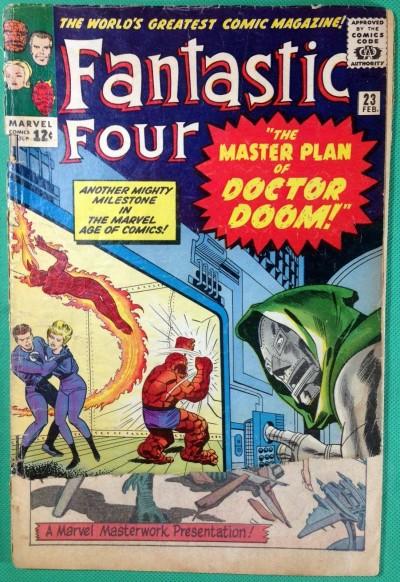 Fantastic Four (1961) #23 PR (.05) versus Dr. Doom