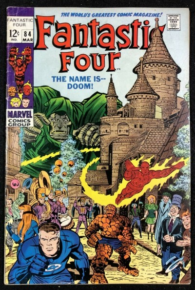Fantastic Four (1961) #84 FN- (5.5) Doctor Doom Cover and Story