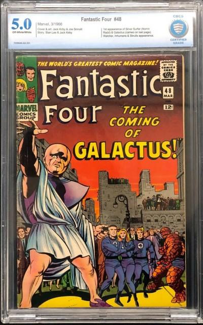 Fantastic Four (1961) #48 CBCS 5.0 1st app Silver Surfer