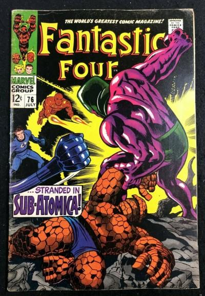Fantastic Four (1961) #76 FN- (5.5) Silver Surfer appearance