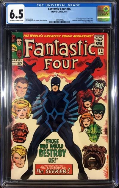 Fantastic Four (1961) #46 CGC 6.5 1st app Black Bolt (1400659003)