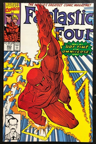 Fantastic Four (1961) #353 VF 1st appearance Mr. Mobius Time Variance Authority