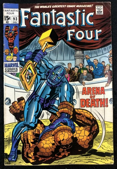 Fantastic Four (1961) #93 FN- (5.5) Thing vs Torgo