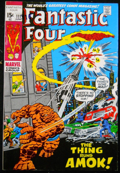 FANTASTIC FOUR #111 FN/VF