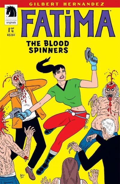 FATIMA: THE BLOOD SPINNERS #1 OF 4 NM DARK HORSE GILBERT HERNANDEZ