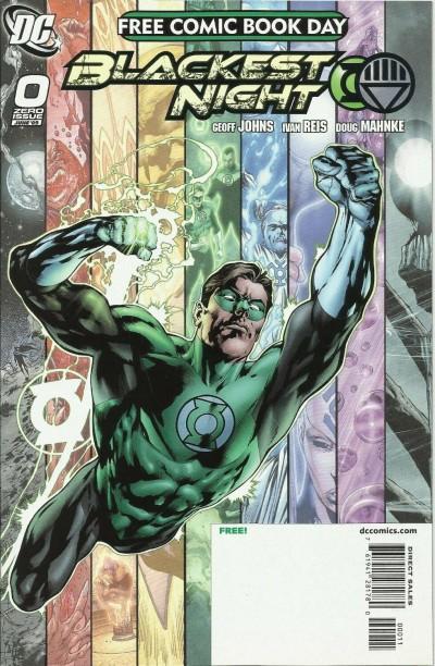 FCBD 2009 Green Lantern Blackest Night VF/NM Free Comic Book Day