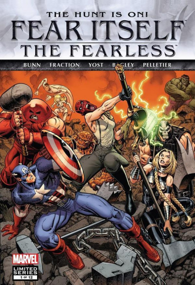 FEAR ITSELF: THE FEARLESS #1 OF 12 NM ARTHUR ADAMS COVER