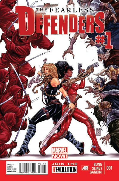 FEARLESS DEFENDERS (2013) #1 VF/NM MARVEL NOW!