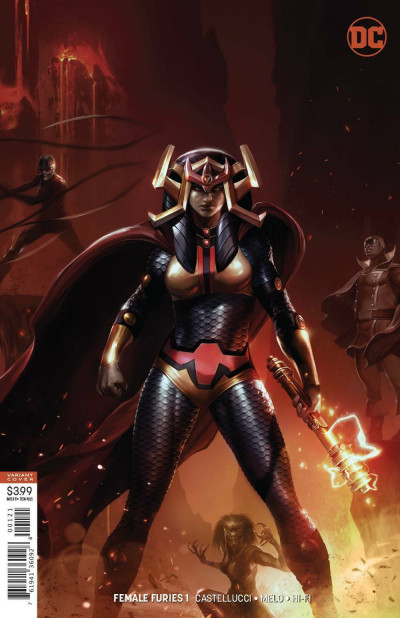 Female Furies (2019) #1 VF/NM-NM Francesco Mattina Big Barda Variant Cover
