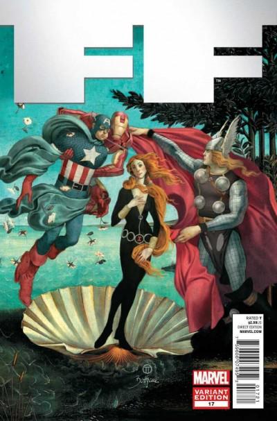 FF (2011) #17 VF/NM-NM Art Appreciation Variant Cover