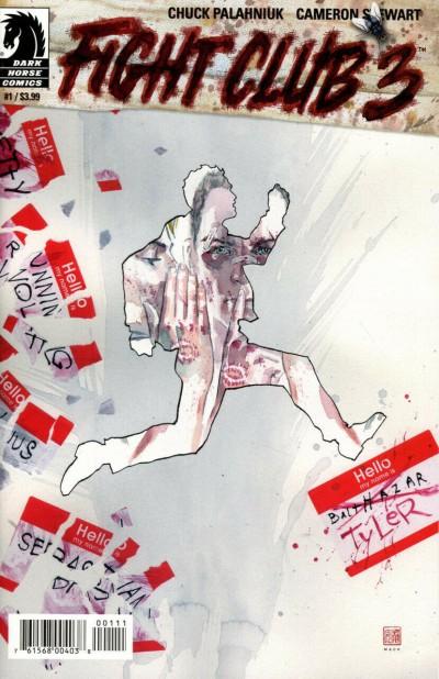 Fight Club 3 (2019) #1 VF/NM David Mack Cover Dark Horse Comics