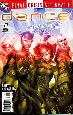 Final Crisis Aftermath: Dance (2009) #1 of 6 VF/NM Artgerm Stanley Lau Cover