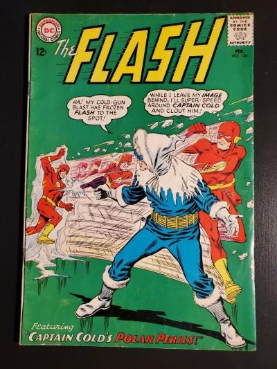 "FLASH #150 (1965) VG- (3.5) ""CAPTAIN COLD'S POLAR PERILS!"" "