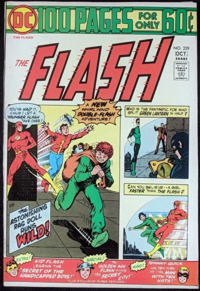 FLASH (1959) #229 VF- (7.5) 100 page giant